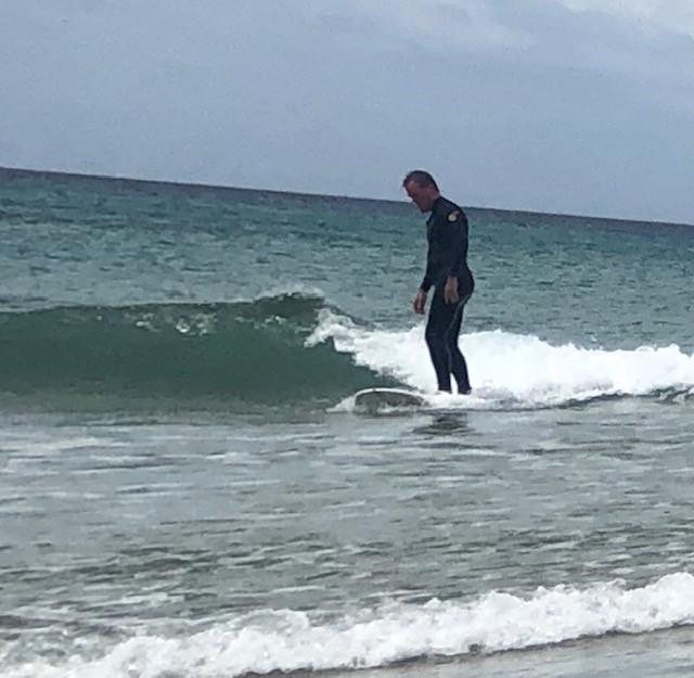 David Christiansen Surfing