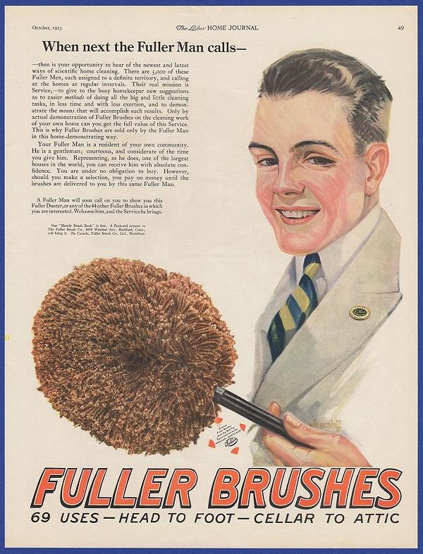 Fuller Brushes ad