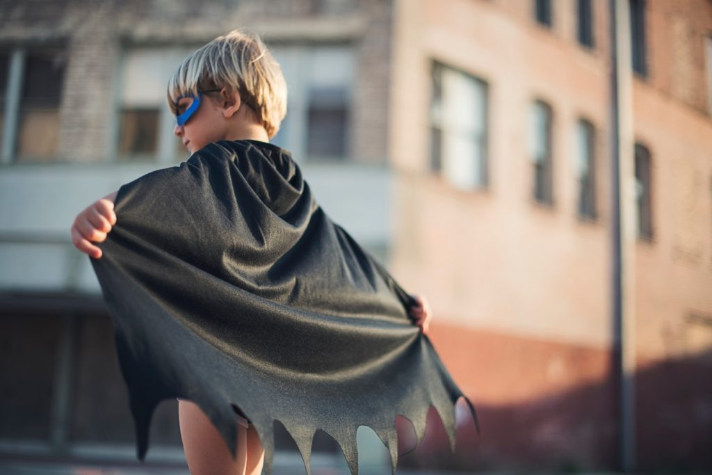 Super Hero Child