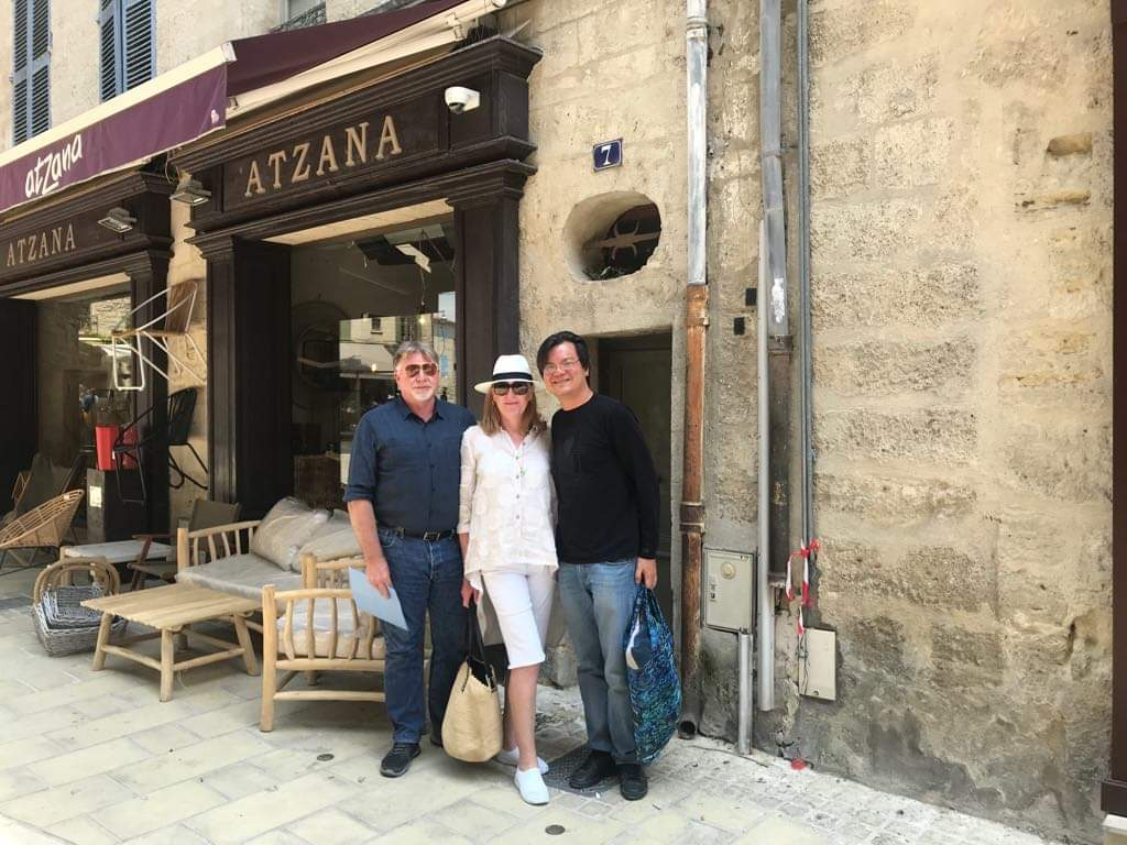 Bruce Laird in Uzes France