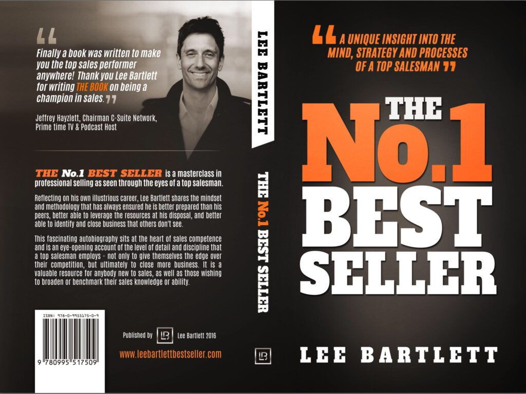 Lee Bartlett - The No.1 Best Seller